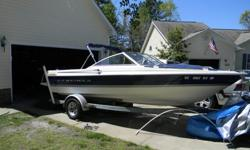We are selling our 1998 Bayliner Capri 18.8 foot boat. 4 cylinder engine. It is in great condition, super clean. We bought it from a friend who had taken excellent care of it as well. Runs great! Seats 7-8 people. Excellent for those hot days to go on the