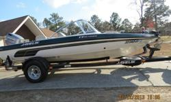 2001 Javekin 17 Venom FS. Trolling motor,pedestal casting seat, stereo. Great condition. Comes with tubes, skis, ropes etc