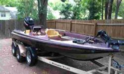 Ranger 374 VOLT Commanche for sale with a 1996 Mercury 150HP EFI. This boat has been well maintained and has the following features