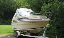 Sea Ray 225 Express Cruiser EZ load trailer