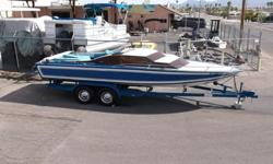 WELL IF YOU WANT A CLASSIC DAYCRUISER TO ADD TO YOUR GARAGE THIS IS IT! ONE OWNER,460 FORD JET,SUPER CLEAN! ALL ORIGNAL. YOU WILL NOT FIND A 1977 SLEEK IN THIS ORIGNAL CONDITION ON THE MARKET FOR SALE FOR THIS PRICE! VERY NICE TANDEM AXLE TRAILER