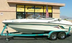 """www.gotwaterrentals.com/Consignment_1995_Rinker_Captiva_190.html""""EXTREMELY Nice"""" Runabout Open-Bow by Rinker!This 19.6' """"Captiva"""" model is one of Rinker's most popular styles and size. Very dependable MercCruiser 4.3L V-6 I/O is powerful, yet easy on gas."""