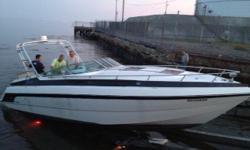 1989 32 ft chaparral /searay like, great boat, solid, runs great, big cabin, .only serious inquiries only. I owned this boat for 7 years and have replaced carb's manifolds and rises installed electronic ignitions,replaced outdrive trim cylinders and many