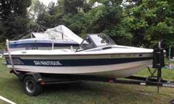 $6,995, PCM INBOARD 240HP ENGINE W/726 HOURS OF FRESHWATER USE, 1989 CORRECT CRAFT SINGLE-AXLE PAINTED BUNK TRAILER W/BRAKES, DRAWSTRING COVER, single owner, INDOOR WINTER STORED, NEVER SHRINK-WRAPPED, NEW INTERIOR VINYL (ONLY two yearS OLD), 6 PERSON