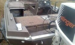 I have a 1981 Skeeter fishing boat with a 75 HORSEPOWER Johnson motor with trailer for sale. 15' long. Clear title to boat and trailer. Am asking $700 obo. Trades are possible. If interested or have questions please contact Charlie @ 540-632-3094Listing