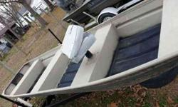 i have a very nice 14/36 flat bottom and a very nice trailor that could be pre-owned for a much bigger boat... both has new paint jobs,,,no leaks good transom,,for sale 700 or trade call 870-347-6535Listing originally posted at http