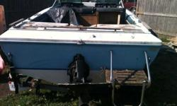 I HAVE A VERY NICE SKI BOAT FOR SALE!!! IT IS AN eighteen feet CITATION WITH A 120 HORSEPOWER MERCURY IN BOARD MOTOR!!! NICE FOR A DAY ON THE LAKE, FULL OF FUN IN THE SUN!!!IT DOES NEED SOME INTERIOR REMODELING, BUT THE EXTERIOR AND TRAILER ARE IN GOOD
