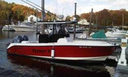 This 25 foot 2007.5 EdgeWater 245 Center Console is located in Cataumet, Massachusetts. If you are looking for the ultimate fishing machine, your search has ended. FEENEY V is decked out to satisfy the most discriminating and ardent fisherman. Her present