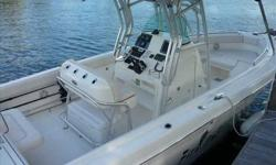 2007 Robalo 26 This boat is pristine. Lift kept with 208 hours on twin 250 Yamaha 4-strokes. Absolutely pampered like an only child. Very well maintained. Excellent room to fish, cruise or ertertain. For more information please call