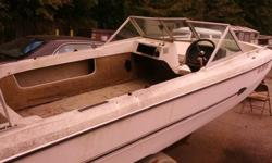 This 16 foot Cougar boat and trailer- Arrow Glass Cougar, Older Boat with 85 Evenrude Selectric Drive motor, includes trailer-boat and motor.Motor ran, but needs some tweaking, like a starter and tune up. Boat has no seats and needs some other fix up's.