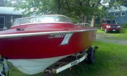1968 Larson All American 186 I/O For sale $750 O/B It has a 2.5lt chevy motor in the boat. It has three seats on pedestals and two seats in the back of the boat. There is a live well that was made in the boat. There is a radio in the boat as well. The