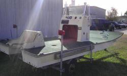 1984 Baymaster 15' shallow scooter bay boat and galvanized trailer. NO TITLE or MOTOR. What you see in the images is what you get. The hull is solid and can be made into a nice extreme shallow running boat. $750 Call 832-364-6200Listing originally posted