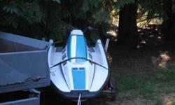 hello im selling my 92 wave-runner. its in terrific shape. has new seat cover, engine is tuned up and ready to go. tags are good till 2013. it has a scat trax aftermarket impeller in it. this ski is a whole lot of fun to ride. it comes with a trailer