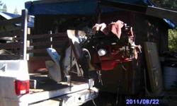 Lake Almanor, Ca Volvo Penta inboard motor, 4 cylinder/twin carb, aq#130d with 280 penta stern drive, 3 blade, on pallet, $750.00 firm, (click to respond) OR CALL 8 to 8, Thank you .See item listed at http