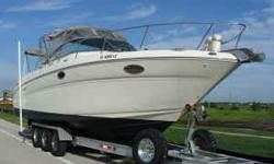 2001 Sea Ray Amberjack, Twin 350 Mercury total 280 hours, total, 4.5kw Westerbeak Generator, AC and heat, Auot Pilot, Radar, GPS, Windless, Color TV/DVD, Refrigerator, Micowave, AM/FM/CD/XM Stero, Full Cockpit Cover, Live bait well, Every option you can