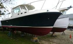 2002 Albin Yachts 28 TE This is a sweet boat!!! Checkout that Zodiac mounted on the hard top. She is ready to go crabbing or for lobsters. Heck I am ready for some good old fashion fishing!!! Please submit any and ALL offers - your offer may be accepted!