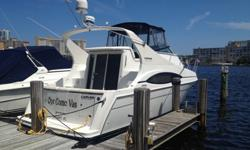 2003 Carver Mariner 350 with BOW THRUSTER. Fresh engines and transmission rebuilds.Pristine Mariner with extensive upgrades and elecronics. This is the nicest 2003 Mariner you will ever find! Custom sculptured carpeting, KVH In Motion Satellite, Cell