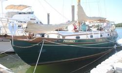 Well maintained, one owner Tayana 37. Located in Wellfleet, MA. Westerbeke 37 HP diesel, rebuilt in 2002. All sails new in 2007 and a complete set of older sails. Comes with a custom made Fairclough winter cover with frame. Excellent blue water cruising