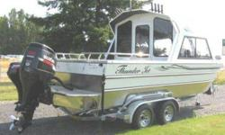 Brand New? 2009 22? White Thunder Jet Alexis Outboard Offshore Powered by 250 HORSEPOWER Suzuki Motor 9.9 Suzuki Kicker Motor This boat is equipped with