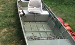 I have a really nice 2008 Smoker Craft Eagle 1432 14 ft Jon Boat this is a complete package include the following