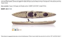 This is a used boat, but only in the water 3X. Has always been garaged. A fabulous deal when you consider a new one is $1100+ plus tax. For the third straight year, Canoe and Kayak Magazine has honored Wilderness Systems as the Boat Brand of the Year (as