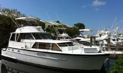 OWNER'S HEALTH FORCES SALE This is one of the few yachts every built to offer the spaciousness of a motoryacht with the sportfishing capability of a convertable- a concept that was ahead of its' time and has grown in popularity over the years. LOADED WITH