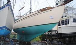 This 37 foot Tayana cutter rigged sloop was constructed in 1983 and is located in New Bedford, Massachusetts.The Tayana 37 is one of Robert Perry's most successful designs, with close to 600 boats completed to date. The Tayana 37, with its double-ended