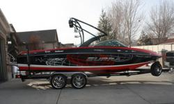 Looking good on and of the water. Loaded with only 195 hrs this 2011 Supra Launch 242 Worlds Edition is the wakeboard boat of choice for Supra Boats team of pro riders, so you know this ride has plenty to keep even the most demanding wakeboarders happy.