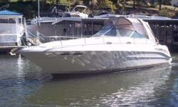 1999 Sea Ray 340 SUNDANCER THIS 99 340 IS A FANTASTIC VESSEL PROFESSIONALLY MAINTAINED AND ALWAYS FRESH WATER. THE BOAT IS POWERED BY THE UPGRADED AND DESIRABLE 454 HORIZONS. this CRUISER HAS SOME PUNCH! she ALSO HAS THE CHERRY CABINETS THAT IS THE MOST