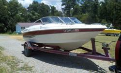 I am selling my 2000 Larson 18ft bowrider. It has a 3.0L Volvo Penta engine with the Volvo Penta SX drive. This boat has a new battery and new water pump impeller, as well as new gear lube in the outdrive. This is a very clean boat with plenty of storage