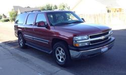 Really nice 2001 Chevy Suburban 1500 LT 4x4. All options possible. Leather, Video, only 188K miles, great wheels and tires.