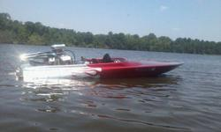 73 wriedt jet boat with 454 bbc, nice basset dry headers, berkely jet,stainless impeller, loader, droop snoot, ratchet setup to run boat without turning impeller, very nice boat, runs and operates good, very reliable, you can put it in the water and go no