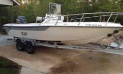 1996 Gulfline center console boat with a 1997 yamaha 150. It is 21 ft. with many accessories. Great boat!!! $7100- FIRM.