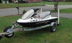 I have a 2010 Kawasaki stx-15f with 114 hours, still ride it on weekends. Warranty runs out in September of next year. Ski is in good condition. Flush after everride and washed. Come with OEM cover. Selling ski and trailer. Just had it serviced 7,200 or