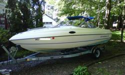 1995 Stingray 20ft Cuddy Cabin with Mercruiser Alpha One 4.3L engine My free time to go boating has been limited over the past three seasons which is why I am selling. Price
