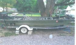 JUST IN TIME FOR FISHING SEASON!!!FOR SALE-2005 17' Tracker Grizzly with Trailer and accessories.MUST SEE!This package deal is ready to take you to the next tournament!Check out THIS AWESOME DEAL!!!2005 17' Grizzly Tracker Boat (floor kit installed -