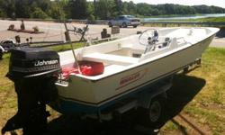 1990 Boston Whaler 17' GLS 90HP Johnson trailer 17' Whaler GLS in great shape. - it is a 2 owner boat with all docs- clean and everything ready to go. engine runs great, new power tilt, on trailer- trailer register w/ title boat register, all paperwork in