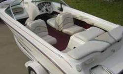 """1996 Sea Ray 175 Bowrider. It is 18'2"""". It is in fantastic condition for its age. Only 203 engine hours. 3.0L 4cyl 135hp Mercruiser i/o with Alpha One outdrive. It has enough power to pull up a wakeboarder even with 8 people in the boat and two large"""