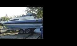 1988 Bayliner 2455 Ciera Sunbrige powered by an OMC Cobra 5.7L stern drive and trailer... Asking $7500.00 o.b.o...