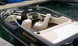 SOLD - 3/30/13.1996 Celebrity. Rare black that shines on the water. 19 1/2 foot with 5.7 V-8. New interior 2012 & comes with Shorelander trailer. $7,500 OBO. Call (270) 427-6212 for more information.