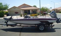 2000 Javelin Renegade R18 DC Bass Boat. Equiped with a Johnson 150HP Motor. The boat was recently recarpeted and the seats reupholstered in May 2012. The bunks were also replaced and recarpeted. It has a new impeller and the lower end oil was changed. It