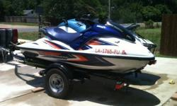 Up for sale are my two Yamaha Waverunners and NEW Shorelandr' Double PWC trailer. Both are in excellent condition and a blast to ride. The 2000 XL800 is a three person watercraft with the Yamaha 800 2 stroke motor. Plenty powerful and is good for pulling
