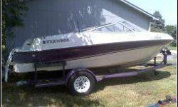 (click to respond) 4.3 Volvo 18ft Dark Puple, 1998 190 Horse Power Great Boat !! I bought this Boat NEW and have treated well, I bought for the Kids and now Kids All Gone so Now She needs a good Home !! Please don't call Me if not serious about buying My