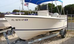 115HP Johnson, GPS, Marine Radio, Bimini and Performance Trailer. Nice Boat