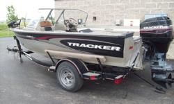 We have a 2002 Targa 17' with a 90 hp Mercury this boat is very nice feel free to call or stop in for more information 5501 Neubert Rd Appleton, WI 54913 (920) 734-9994