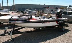 Mercury 150 EFI Outboard, SS Prop, Front & Rear Swiveling Fishing Seats, Electric Trolling Motor w/ Foot Control, Single Axle Trailer and More!