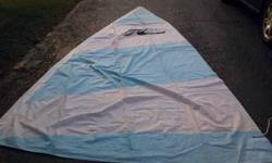 Hobie ten sail.Call 630-460-7336 instead of emailing. Cash onlyListing originally posted at http