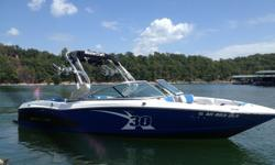 Powered by a 5.7 L 350hp with 90 hours this boat is lake ready! The MasterCraft X-30 offers a progressive flare while staying in touch with its time-honored heritage. At 23 feet 4 inches in length and 100 inches in width, the new X-30 boasts a traditional