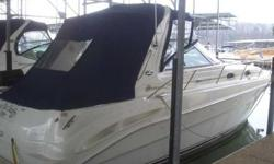 2002 Sea Ray 340 SUNDANCER New Listing on Lake Lanier This is a 2002 340 Sundancer / This 340 is equipped with Twin V - Drive 8.1 S Horizon close cooled engines. The engine hours are 610 / This boat has been very well maintained and has always been kept