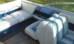 """1988 Sea Ray open bow 16'9"""" runabout. 100 horsepower merc outboard engine. two cylanders are weak so if you already have a motor this is the boat for you. If not it can be rebuilt, it ran when we got it just not at full power. Interior in fair condition"""